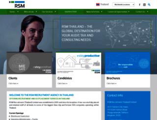 rsmrecruitment.com screenshot
