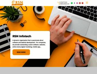rsninfotech.com screenshot