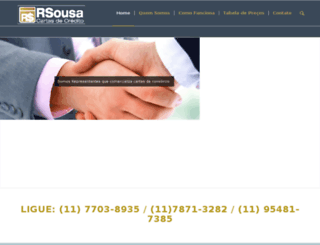 rsousacartasdecredito.com.br screenshot