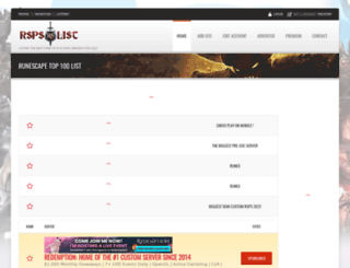 rsps-list.com screenshot
