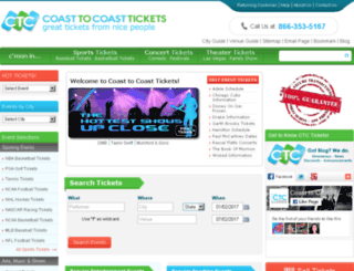 rss.coasttocoasttickets.com screenshot