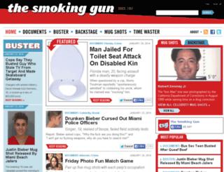 rss.thesmokinggun.com screenshot