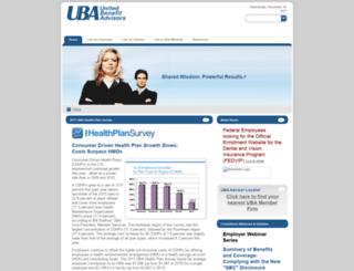 rss.ubabenefits.com screenshot