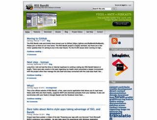 rssbandit.com screenshot