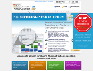 rsscalendar.com screenshot