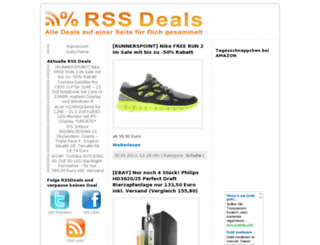 rssdeals.de screenshot