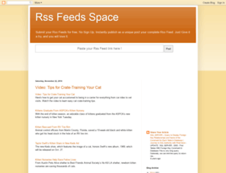rssfeedsspace.blogspot.nl screenshot