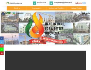 rsudcengkareng.com screenshot