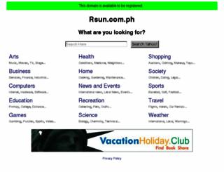 rsun.com.ph screenshot