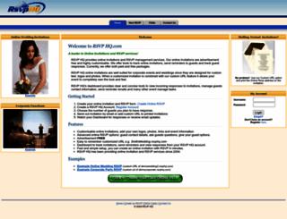 rsvphq.com screenshot