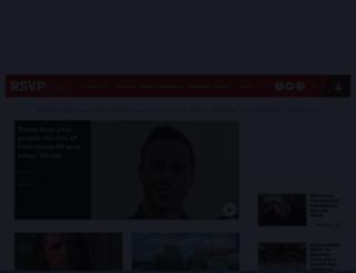 rsvpmagazine.ie screenshot