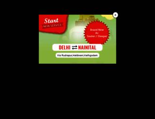 rsyadavbus.com screenshot