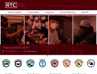 rtc.edu screenshot