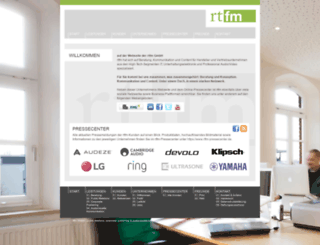 rtfm-pr.de screenshot