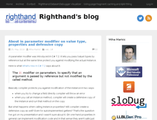 rthand.com screenshot