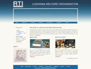 rtiludhiana.com screenshot