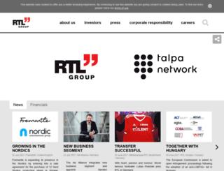 rtlgroup.net screenshot