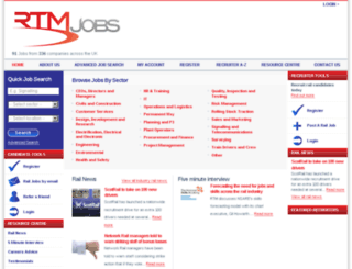 rtmjobs.com screenshot