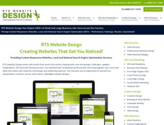 rtswebsitedesign.com screenshot
