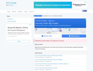 rtuportal.com screenshot