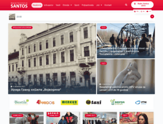 rtvsantos.com screenshot