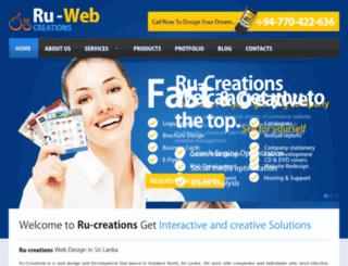 ru-creations.com screenshot
