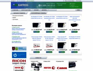 ru-kartridg.ru screenshot