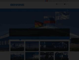 ru.benning.de screenshot