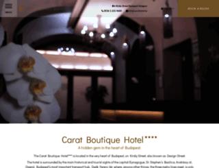 ru.caratboutiquehotel.hu screenshot