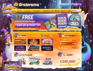 ru.gratorama.com screenshot