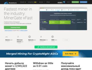 ru.minergate.com screenshot