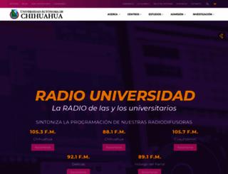 ru.uach.mx screenshot