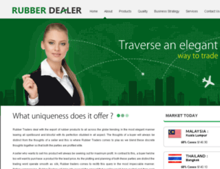 rubberdealer.com screenshot