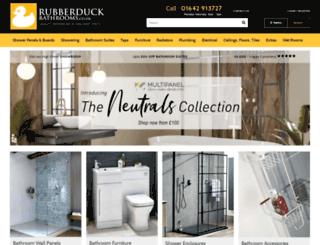 rubberduckbathrooms.co.uk screenshot
