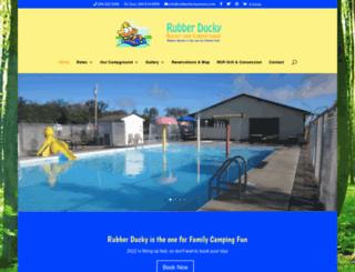 rubberduckyresort.com screenshot