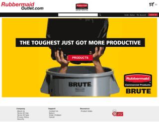 rubbermaidoutlet.com screenshot