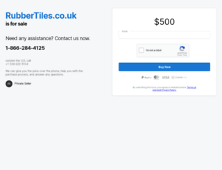 rubbertiles.co.uk screenshot
