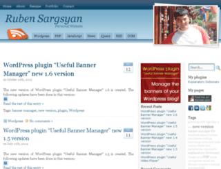 rubensargsyan.com screenshot