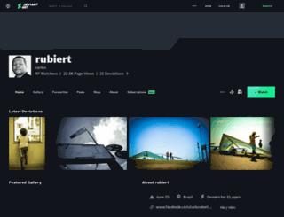 rubiert.deviantart.com screenshot