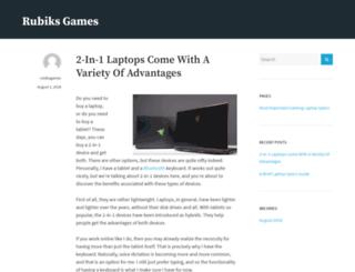 rubiksgames.com screenshot