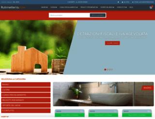 rubinetteria.com screenshot