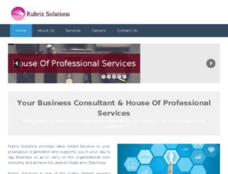 rubrixsolutions.com screenshot
