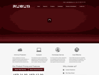rubus.co.in screenshot