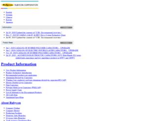 rubycon.com screenshot