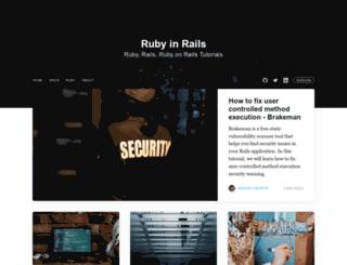 rubyinrails.com screenshot