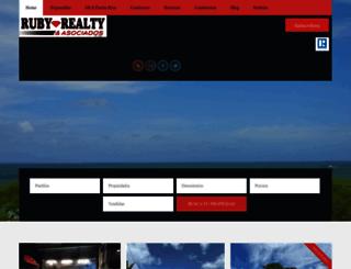 rubyrealty.com screenshot