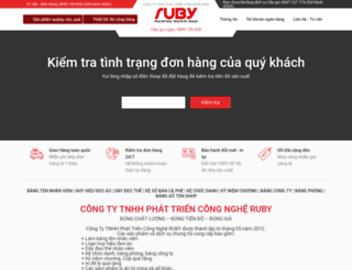 rubyvn.com screenshot