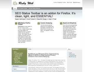 rubyweb.org screenshot