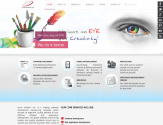 ruchiinfotech.com screenshot