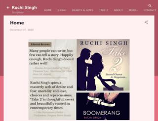 ruchisingh.in screenshot